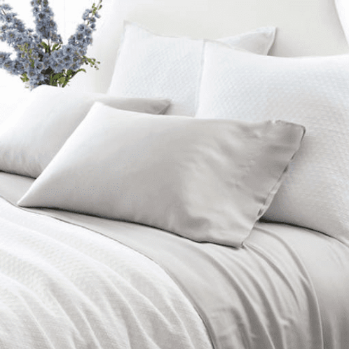 Silken Solid Sheet Set - Grey
