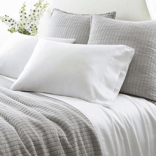 Silken Solid Sheet Set - White