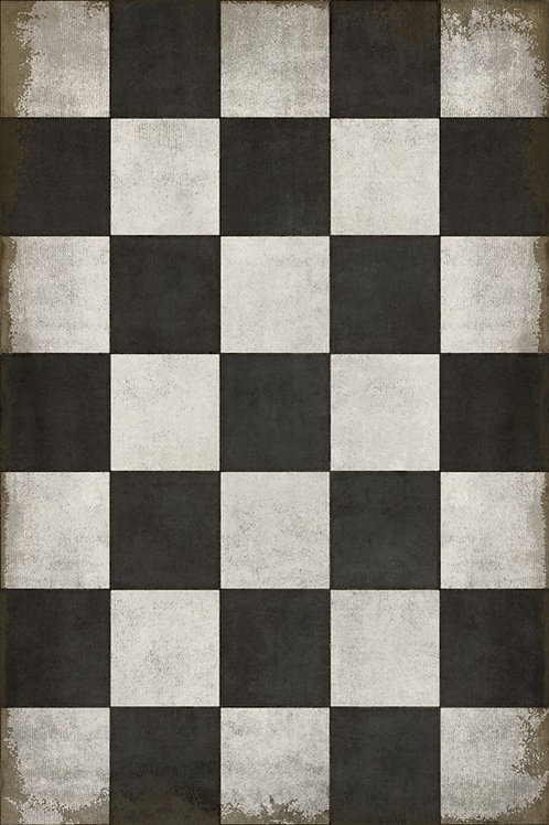 Vinyl Rug - Checkered Past