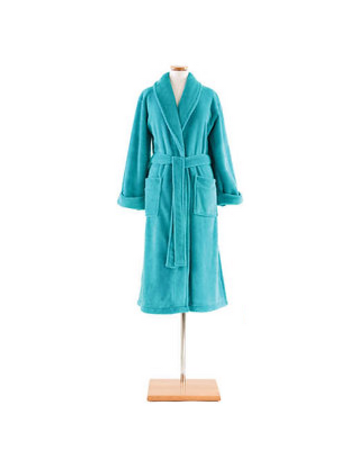 Pine Cone Hill Robe -Teal