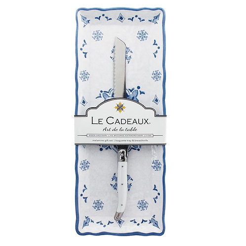 Baguette Tray - Moroccan Blue