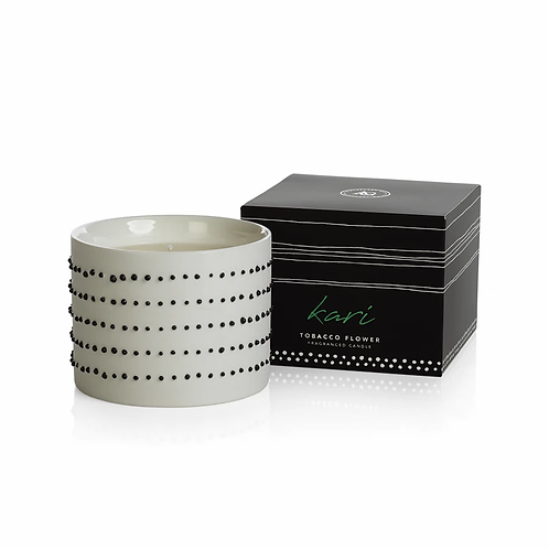 Apothecary Guild Candle - Black Dots