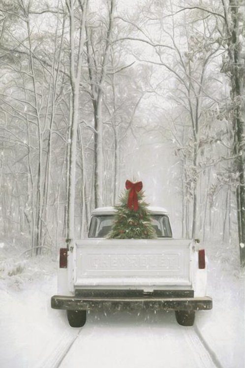 Christmas Vintage Truck