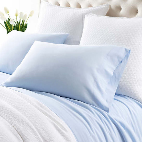 Comfy Cotton Sheet Set - Soft Blue