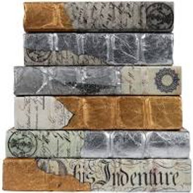 Set of 3 Decorative Books