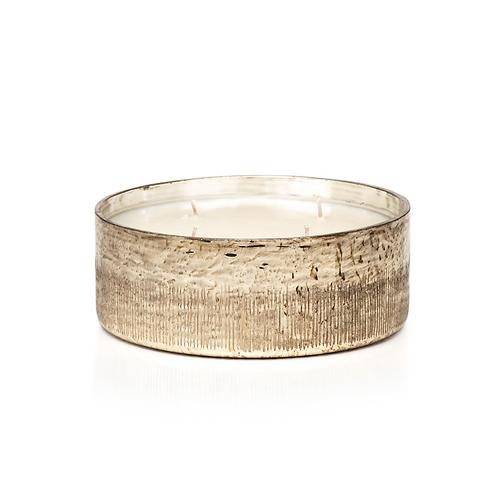 Siberian Fir 4 Wick Candle -Gold