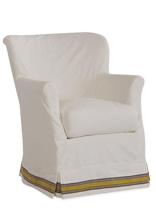 Slipcovered Chair   C1347-01