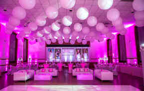 Decorative room lighting