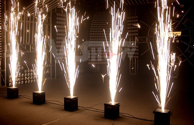A DJ Connection Cold Spark fireworks fountain