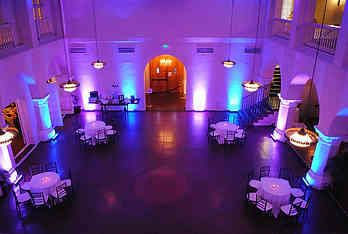 Deco room lights w A DJ Connection