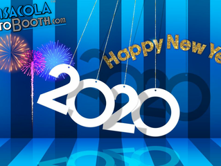 Happy New Year 2020 from Pensacola Photo Booth