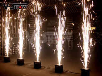 Brand new fireworks fountain or cold spark machines are now avail.