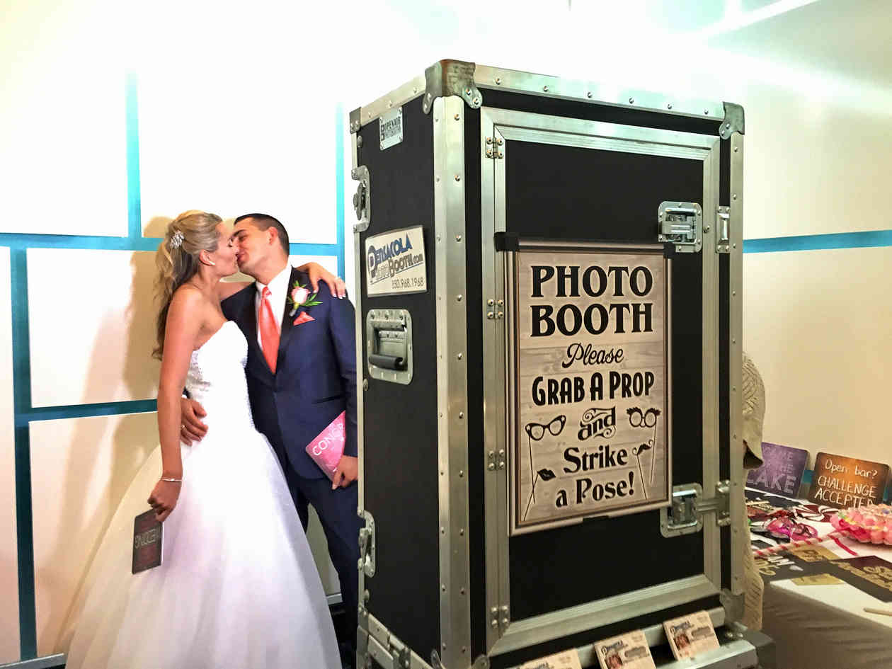Pensacola Photo Booth wedding