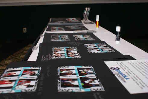 Pensacola Photo Booth scrap book