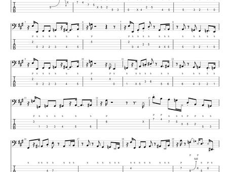Seinfeld Theme - slapová verze + transkripce