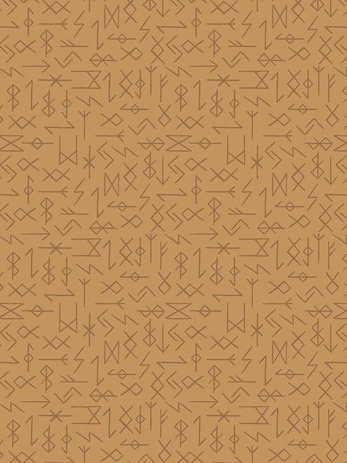 Lewis and Irene - Viking Adventure - Runes on ochre