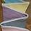 Thumbnail: 8 Flag Polka Dot Bunting - Pastels