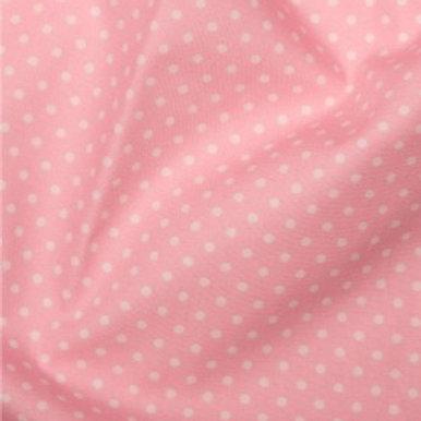 Pale Pink - Polka Dots