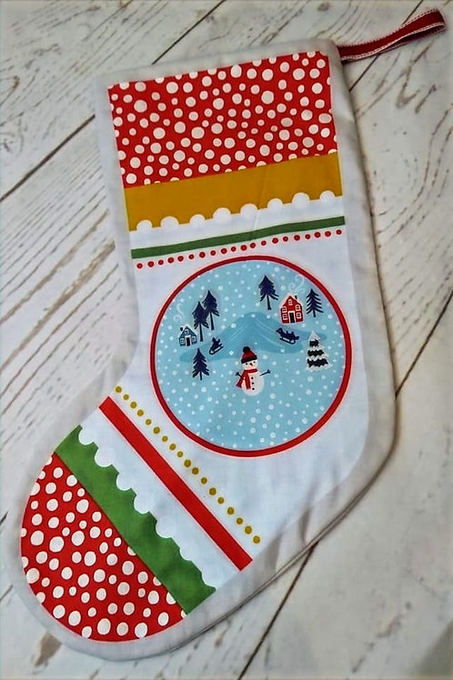 Christmas Stocking - Cream