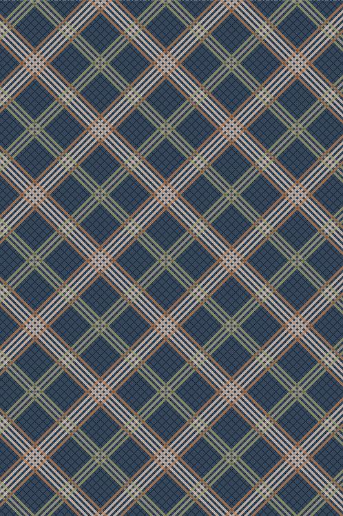 Blue Check - Loch Lewis