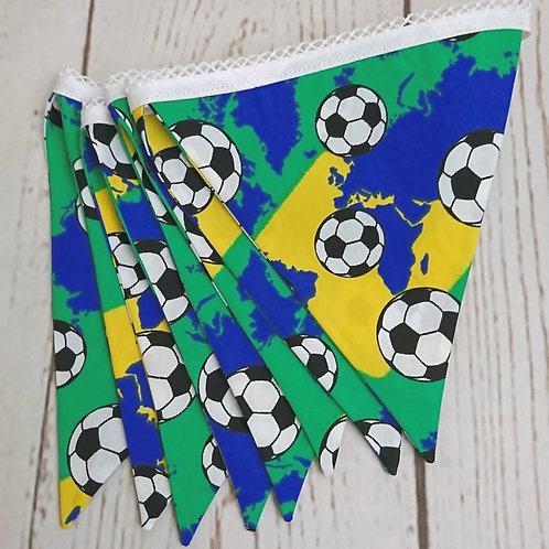 8 Flag Football Themed Bunting