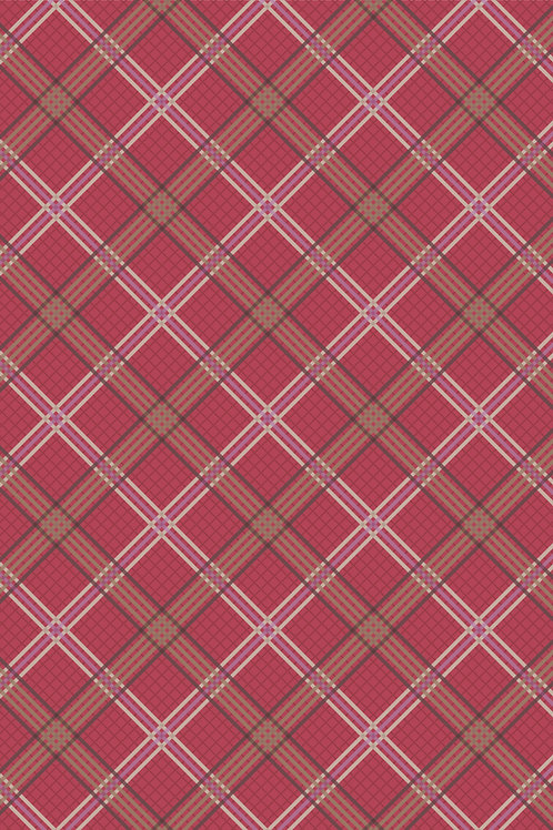Red Check - Loch Lewis