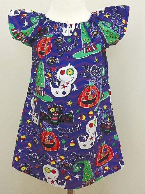 Halloween Flutter Dress - Age 3