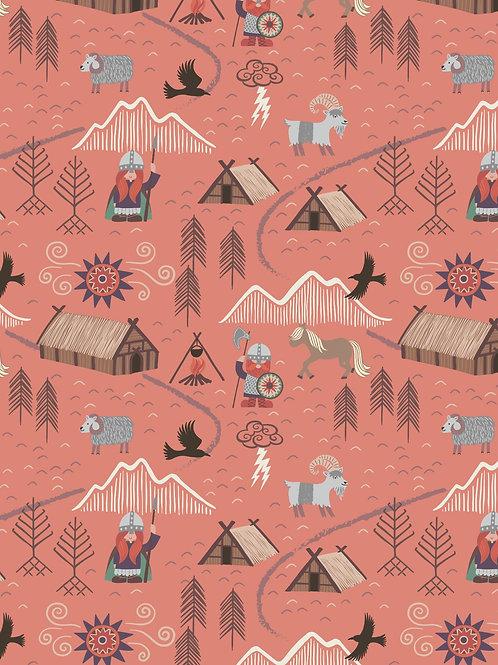 Lewis & Irene - Viking Adventure - Viking Village on Peach