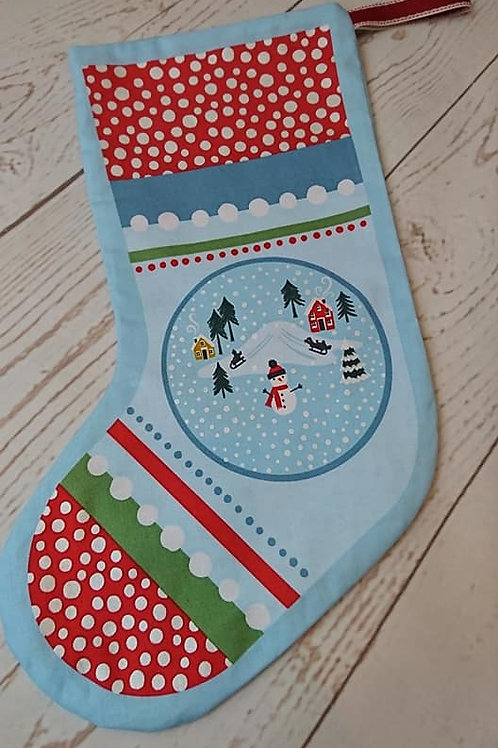Christmas Stocking - Blue