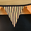 Thumbnail: 7 Flag Glow in the Dark Halloween Bunting - Spiders and Stripes