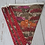 Thumbnail: 7 Flag Celtic Coorie Highland Bunting -Red Thistles