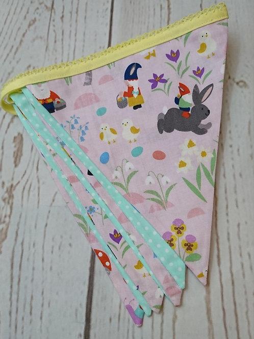 7 Flag Springtime Gnomes - Pink
