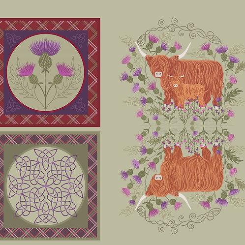 Loch Lewis - Cut & Stitch Cushion Panel