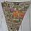 Thumbnail: 7 Flag Celtic Coorie Highland Bunting - Olive Green Thistles