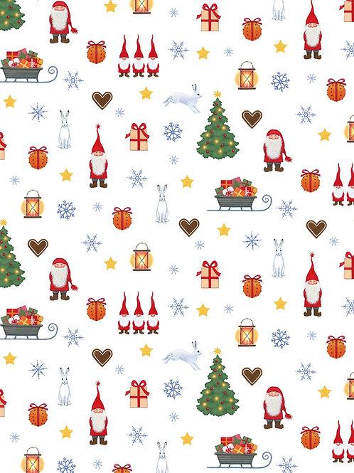 Lewis and Irene - Tomtens Christmas - Tomten festive fun on cream