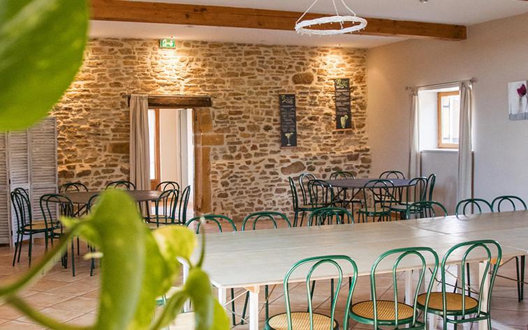 Grande salle Domaine des Vignes d'Hôtes