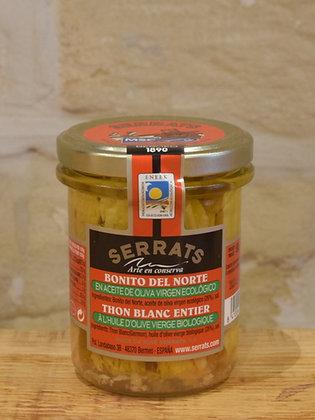 Filet de thon à l'huile d'olive Bio