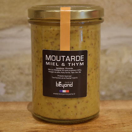 Moutarde Miel & Thym