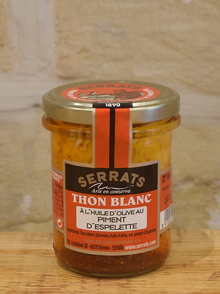 Filet de thon au piment d'Espelette