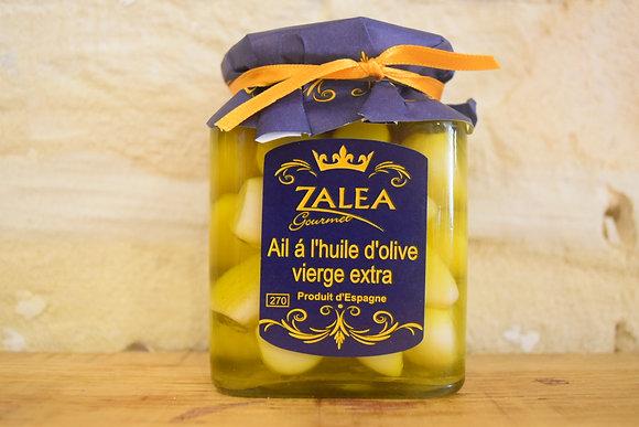 Ail doux à l'huile d'olive