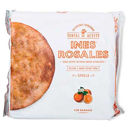 Torta Ines Rosales Orange