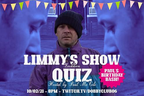 Limmy Lookdoon Quiz