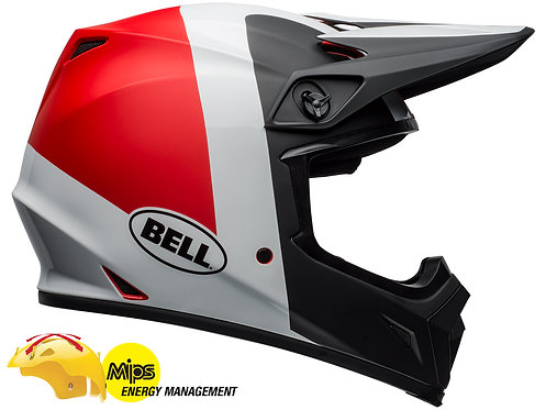 BELL MX-9 MIPS PRESENCE / Black/White/Red