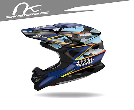 SHOEI VFX-WR ab 2018- / POWER Navy