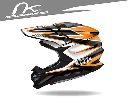 SHOEI VFX-WR ab 2018- / RACE KTM