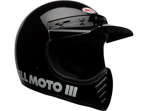 BELL MOTO-3  / Classic Black
