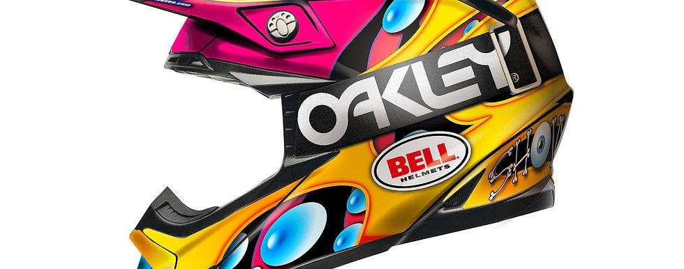BELL Moto-9 Flex&Mips  / Jeremy McGrath Replica Edition