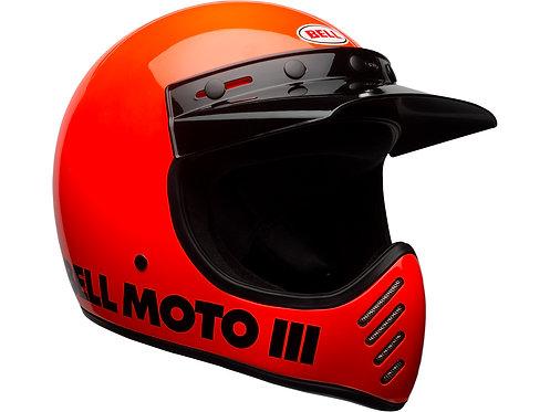 BELL MOTO-3  / Classic Orange