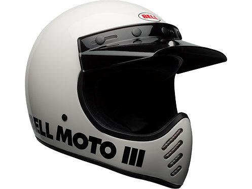 BELL MOTO-3  / Classic White
