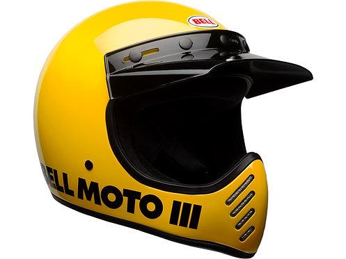 BELL MOTO-3  / Classic Yellow